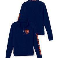 Chicago Bears Athletic Half-Zip Pullover - PINK - Victoria's Secret