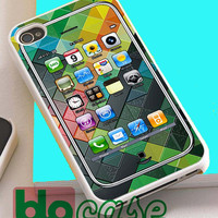 I Phone 4S On Wild Abstract Pattren For Iphone 4/4s, iPhone 5/5s, iPhone 5C, iphone 6, and iPhone 6 Plus Case