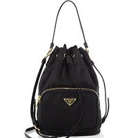 Tess Drawstring Nylon Pouch Crossbody Bag - Zoom - Saks Fifth Avenue Mobile