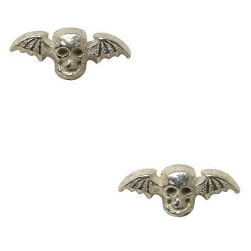 Avenged Sevenfold Death Bat Stud Earrings