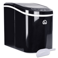 Igloo ICE102-BLACK Portable Countertop Ice Maker (Black)