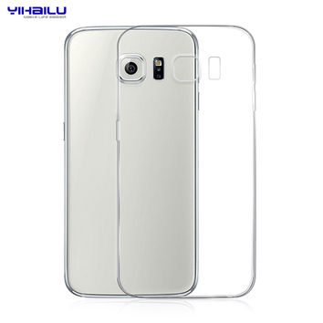 For Samsung Galaxy S6 Case TPU Protect Camera Case Transparent Clear Soft Silicone Ultra Thin Cover For Samsung Galaxy S6 G9200