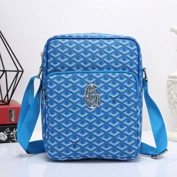 CUPUPIOD Goyard Women Men Shopping Bag Leather Satchel Shoulder Bag Crossbody
