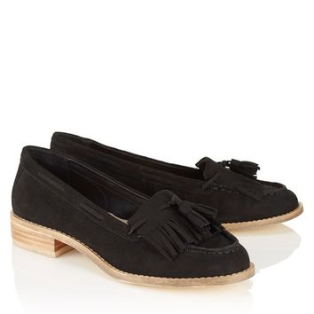 Lost Ink Box Tassel Loafer