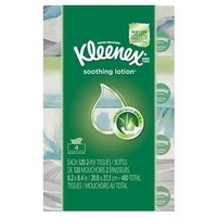 Kleenex® Facial Tissues with Lotion - 120ct/4pk
