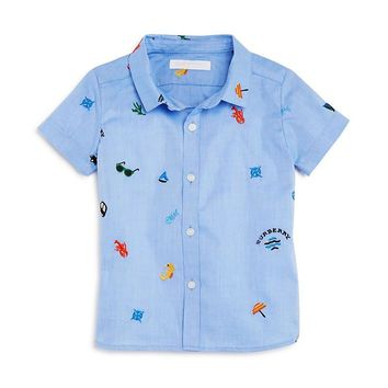 Infant Boys' Burberry Clarkey Button Down Shirt