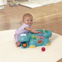 Fisher-Price Go Baby Go Poppity Pop Musical Dino Educational Developmental Musical Toy