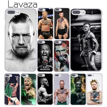 Lavaza Conor Mcgregor Fashion Hard Cover Case for Apple iPhone 8 7 6 6S Plus 5 5S SE 5C 4 4S X 10 Coque Shell