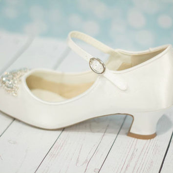 Wedding Shoes By Arbie Goodfellow - Parisxox - Vintage Wedding Shoes - Louis Heel Shoes - Vintage Styled Shoes - Choose From Over 150 Colors