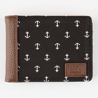 Benrus Anchor Wallet Black One Size For Men 25882010001