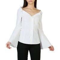 Pinko White Sleeves Long Top