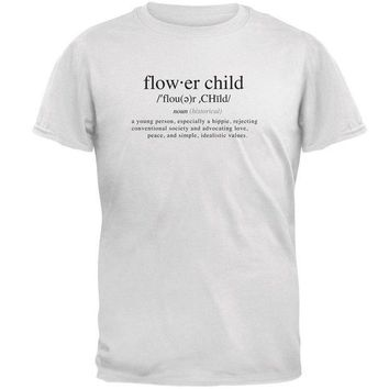 ESBGQ9 Flower Child Definition Mens T Shirt