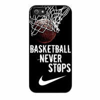 Nike Basketball Never Stops iPhone 5 Case