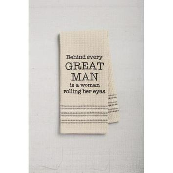 Great Man Dishtowel