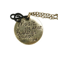 Music Feelings Necklace