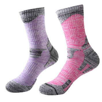 (2Pairs/lot)Women&Men High Quality Brand Cotton Socks Unisex Winter Thermal Warm Socks Women Casual In Tube Towel Socks