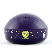 """Le Petit Prince """"Touch Active, Easy Clean"""" Twilight Constellation Galaxy Round Projector Night Light by Lumitusi"""