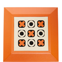 Leather Tic Tac Toe Set