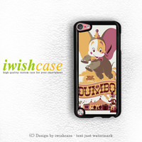 Disney Cartoon Posters Art Dumbo 1941 iPod Touch 4 Case iPod Touch 5 Case