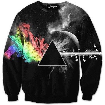 Abstract Prism Crewneck