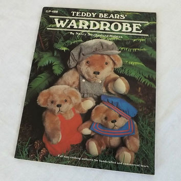 Vintage Teddy Bears Wardrobe Pattern Book
