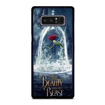 BEAUTY AND THE BEAST ROSE IN GLASS Samsung Galaxy Note 8 Case Cover