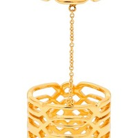 Women's gorjana 'Layla' Midi Chain Ring - Gold