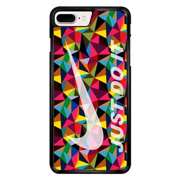 Nike Just Do It Geometrick iPhone 7 Plus Case