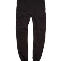 Cargo Sweatpant in Black