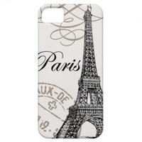 Vintage Paris...iphone 5 case from Zazzle.com