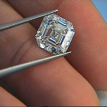 5.00ct G-VS1 GIA certified Engagement Bridal Anniversary rings JEWELFORME BLUE