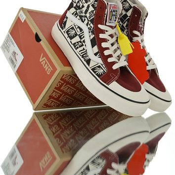 Vans SK8-Hi 138 Decon Checker Canvas