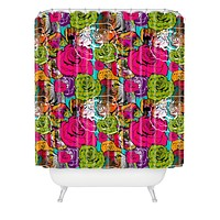 Aimee St Hill Bright Roses Shower Curtain