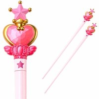 Sailor Moon Pink Moon Stick Chopsticks **Preorder**