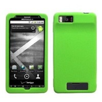 Cbus Wireless Green Silicone Case / Skin / Cover for Motorola Droid X / MB810 / Droid X2 / MB870