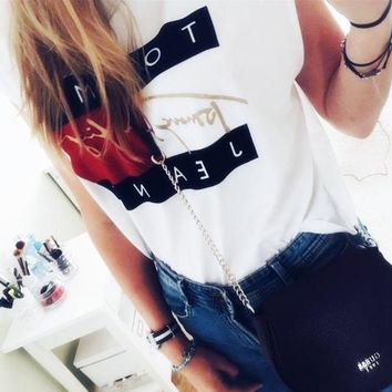 VONEV0G Tommy Hilfiger Jeans Cropped Top Tee