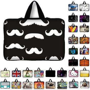 "Smile Laptop Bag Sleeve 7 10 12 13 14"" 15 15.6 17 inch Tablet Notebook Protective Case Cover For MacBook HP ASUS Lenovo Dell"