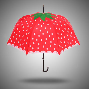 Design Strong Character Stylish Korean Creative Princess Uv Proof Umbrella [4918245828]