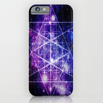 Flower of Life : Sacred Geometry iPhone & iPod Case by 2sweet4words Designs