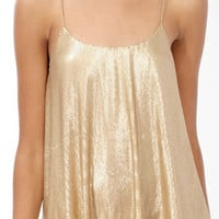 Sequined Swing Cami