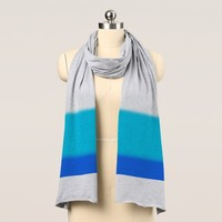 Ombre Blues Scarf