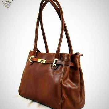 Woman Genuine Leather Shoulder Bag
