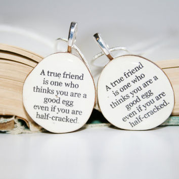 Best friend necklace set wood jewelry Customized jewelry nature lover gifts reclaimed wood gift friendship gift, best friends