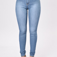 Sophie High Waist Jegging - Dark