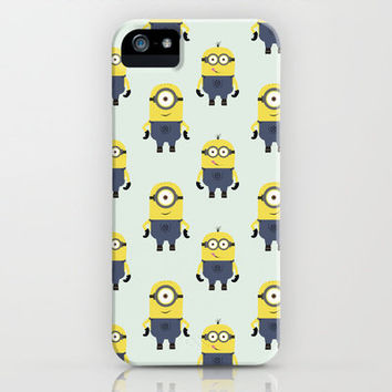 PP - Minions iPhone Case by Lalaine Lim