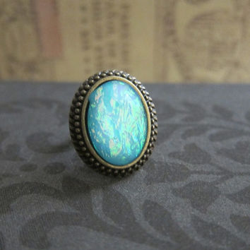 Best Antique Blue Stone Rings Products on Wanelo  Best Antique Bl...
