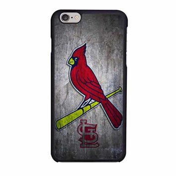 st louis cardinals stone logo nfl design iphone 6 6s 4 4s 5 5s 6 plus cases
