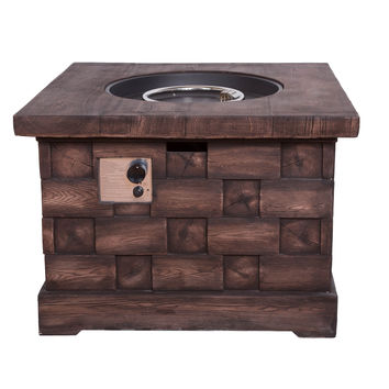 Michael Anthony Wood Look Fire Pit