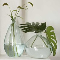 Recycled Glass Balloon Vases - Classically Clear