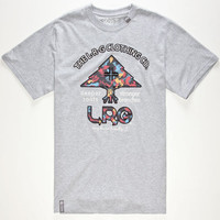 Lrg Deeper Roots Mens T-Shirt Heather Grey  In Sizes